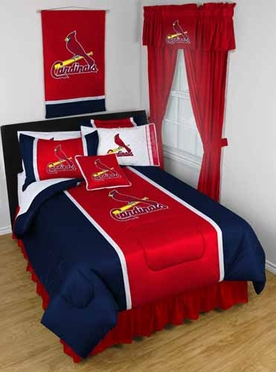 St Louis Cardinals SIDELINES Jersey Material Comforter