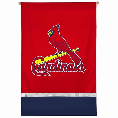 St Louis Cardinals SIDELINES Jersey Material Wallhanging