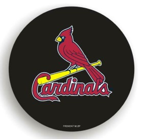 St. Louis Cardinals Black Tire Cover - Standard Size