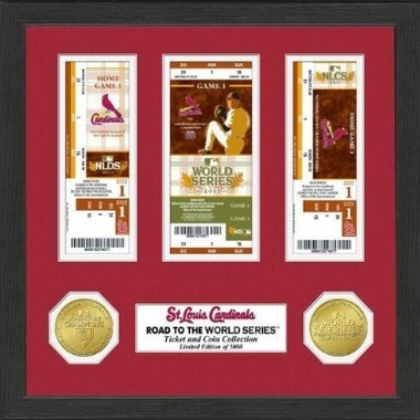 St. Louis Cardinals �St. Louis Cardinals Road to the WS Ticket Photo Mint