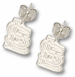 St Louis Cardinals Sterling Silver Post or Dangle Earrings
