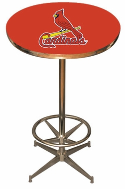 St Louis Cardinals Team Pub Table