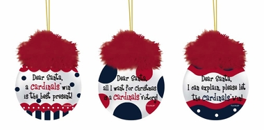 St Louis Cardinals Team Sayings Ornament Set