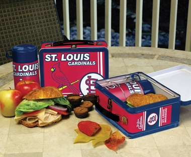 St Louis Cardinals Tin Lunch Box
