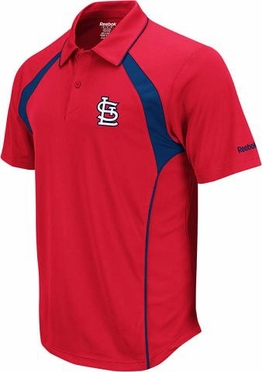St Louis Cardinals Trainer Performance Polo Shirt