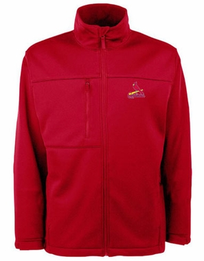 St Louis Cardinals Mens Traverse Jacket (Team Color: Red)