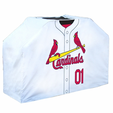 St Louis Cardinals Uniform Grill Cover