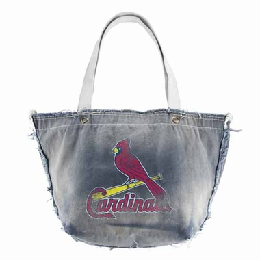St Louis Cardinals Vintage Tote (Denim)