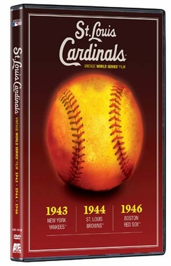 St Louis Cardinals Vintage World Series Film (1940?s) DVD