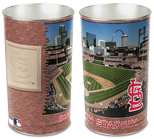 "St. Louis Cardinals 15"" Waste Basket"