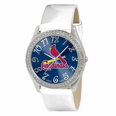 St Louis Cardinals Women's Glitz Watch