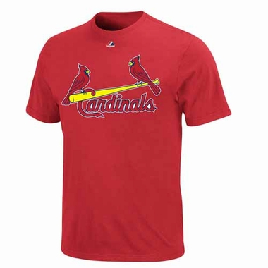 St. Louis Cardinals YOUTH Official Wordmark T-Shirt - Red