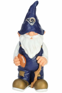 "Los Angeles Rams Garden Gnome - 11"" Male"