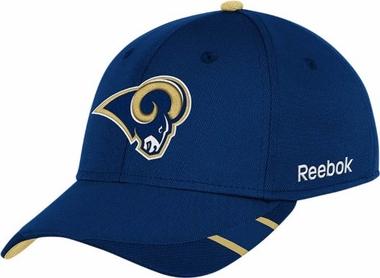 St Louis Rams 11 Sideline Structured Flex Hat