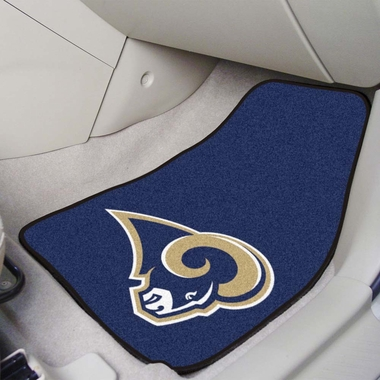 Los Angeles Rams 2 Piece Car Mats
