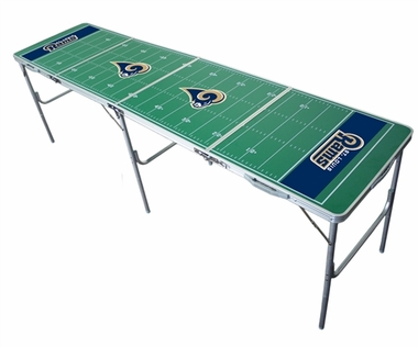 St Louis Rams 2x8 Tailgate Table