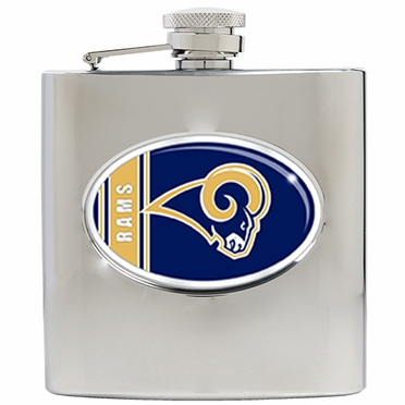 St Louis Rams 6 oz. Hip Flask
