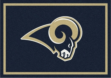 "Los Angeles Rams 7'8"" x 10'9"" Premium Spirit Rug"
