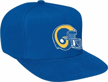 St Louis Rams Basic Logo Snap Back Hat
