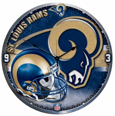 St Louis Rams Big 18 Inch Hi Definition Clock