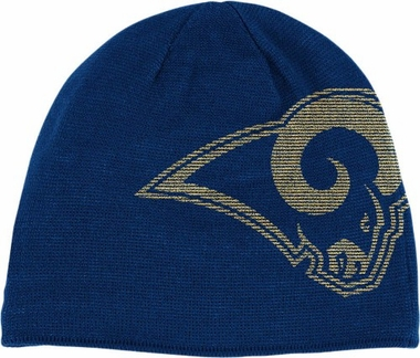 St Louis Rams Big Logo Knit Hat