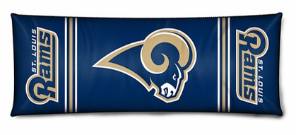 St Louis Rams Body Pillow