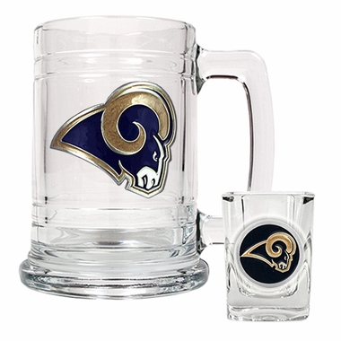 St Louis Rams Boilermaker Set
