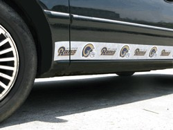 St Louis Rams Car Trim Magnets