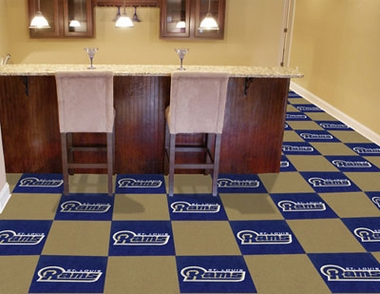 St Louis Rams Carpet Tiles