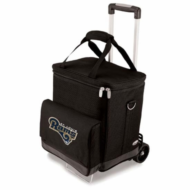 St. Louis Rams Cellar w/Trolley (Black)