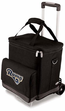 Los Angeles Rams Cellar w/Trolley (Black)