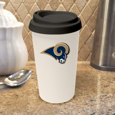 St Louis Rams Ceramic Travel Cup