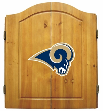 Los Angeles Rams Complete Dart Cabinet