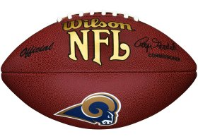 St Louis Rams Composite Wilson Football