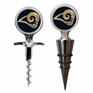 St Louis Rams Corkscrew and Stopper Gift Set