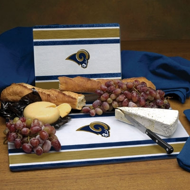 St Louis Rams Cutting Board Set