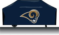 St Louis Rams Deluxe Grill Cover
