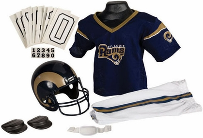 St Louis Rams Deluxe Youth Uniform Set