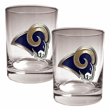 St Louis Rams Double Rocks Set
