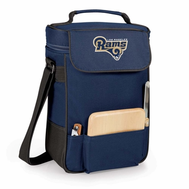 Los Angeles Rams Duet Compact Picnic Tote (Navy)