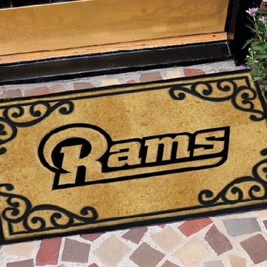 St Louis Rams Exterior Door Mat