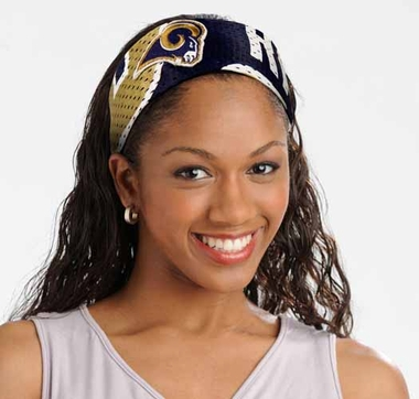 St Louis Rams FanBand Hair Band