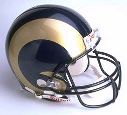 St Louis Rams Full Sized Replica Helmet