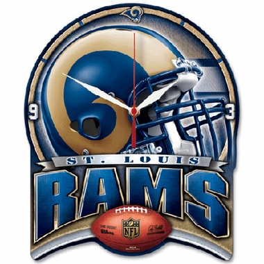 St Louis Rams High Definition Wall Clock