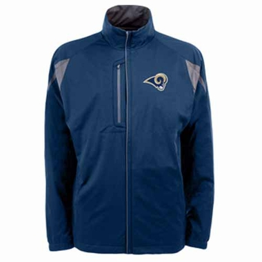 St Louis Rams Mens Highland Water Resistant Jacket (Team Color: Navy)