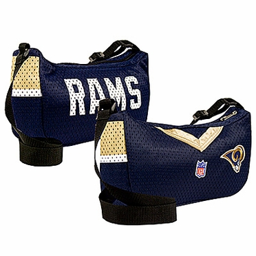 St Louis Rams Jersey Material Purse