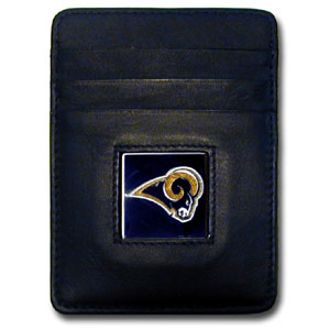 St Louis Rams Leather Money Clip (F)