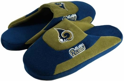 St Louis Rams Low Pro Scuff Slippers