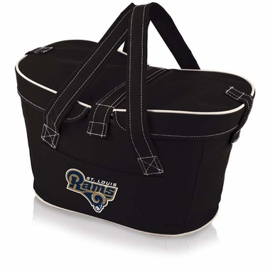 St. Louis Rams Mercado Picnic Basket (Black)