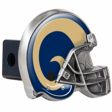 St Louis Rams Metal Helmet Trailer Hitch Cover
